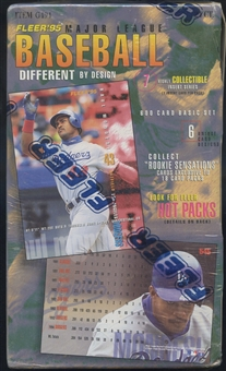 1995 Fleer Series 1 Baseball Retail Loader Box