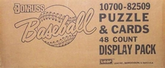 1988 Donruss Baseball Blister 48 Pack Case 10700-82510