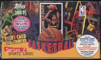 1994/95 Topps Series 2 Basketball Jumbo Box