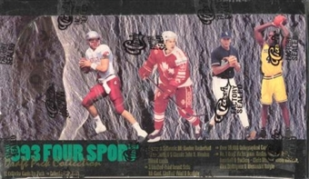 1993 Classic Four Sport Hobby Box