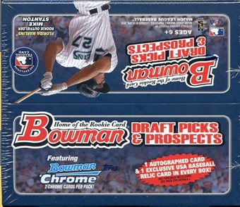 2010 Bowman Draft Picks & Prospects Baseball  24-Pack Box