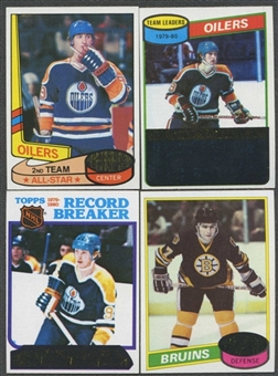 1980/81 Topps Hockey Partial Set (NM-MT)