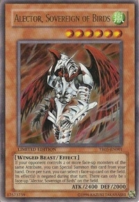 Yu-Gi-Oh Promo Single Alector, Sovereign of Birds Ultra Rare YR05-EN001