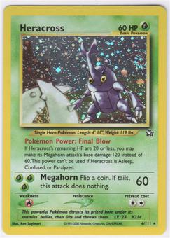 Pokemon Neo Genesis Single Heracross 6/111