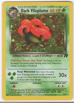 Pokemon Team Rocket 1st Edition Single Dark Vileplume 13/82 - NEAR MINT (NM)