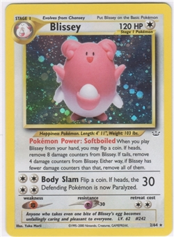 Pokemon Neo Revelations Single Blissey 2/64