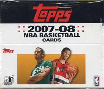 2007/08 Topps Basketball 24-Pack Box