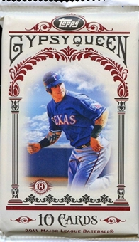 2011 Topps Gypsy Queen Baseball Hobby Pack