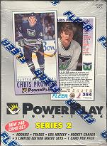 1993/94 Fleer Power Play Series 2 Hockey Hobby Box