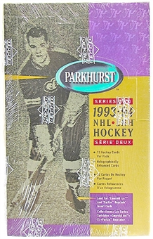 1993/94 Parkhurst Series 2 Canadian Hockey Hobby Box