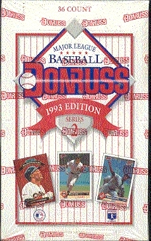 1993 Donruss Series 2 Baseball Hobby Box