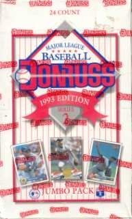 1993 Donruss Series 2 Baseball Jumbo Box