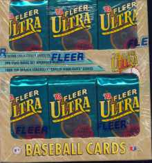 1993 Fleer Ultra Series 1 Baseball Jumbo Box