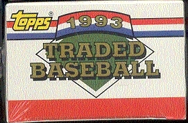 1993 Topps Traded & Rookies Baseball Factory Set
