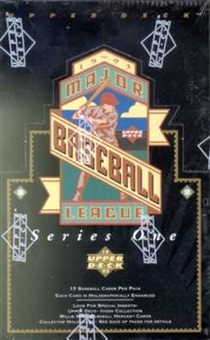 1993 Upper Deck Series 1 Baseball Retail Box