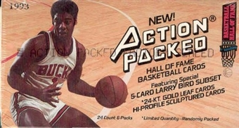 1993/94 Action Packed Hall Of Fame Series 1 Basketball Hobby Box