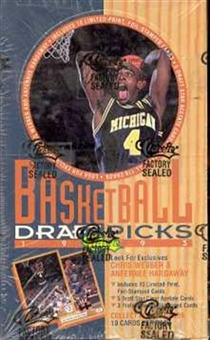 1993/94 Classic Draft Picks And Prospects Basketball Hobby Box