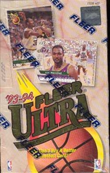 1993/94 Fleer Ultra Series 1 Basketball Hobby Box
