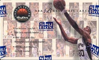 1993/94 Skybox Premium Series 1 Basketball Hobby Box