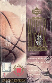 1993/94 Upper Deck Special Edition Western Basketball Hobby Box