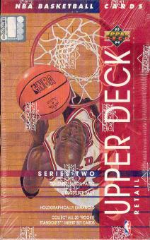 1993/94 Upper Deck Series 2 Basketball 36 Pack Box
