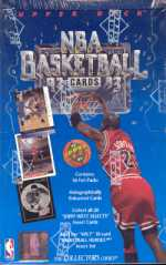 1992/93 Upper Deck Low # Basketball Hobby Box