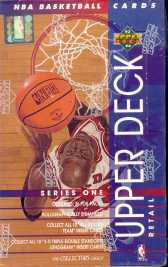 1993/94 Upper Deck Series 1 Basketball Retail Box