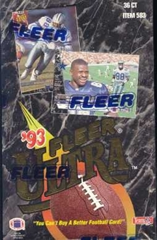 1993 Fleer Ultra Football Hobby Box