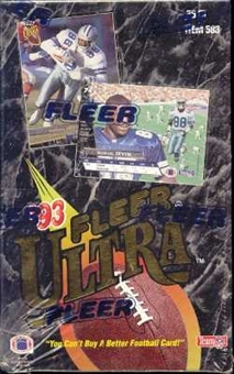 1993 Fleer Ultra Football Jumbo Box
