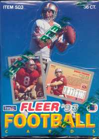 1993 Fleer Football Hobby Box