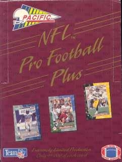 1993 Pacific Plus Football Hobby Box