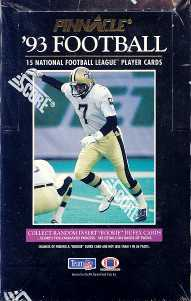 1993 Pinnacle Football Hobby Box