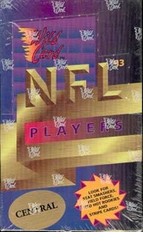 1993 Wild Card Football Hobby Box