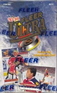 1993/94 Fleer Ultra Series 2 Hockey Hobby Box