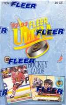 1992/93 Fleer Ultra Series 1 Hockey Hobby Box