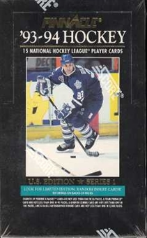 1993/94 Pinnacle Series 1 Hockey Hobby Box