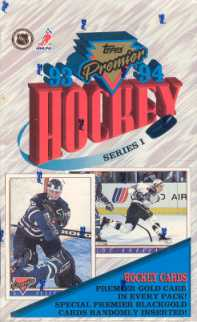 1993/94 Topps Premier Series 1 Hockey Hobby Box