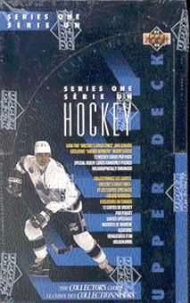1993/94 Upper Deck Series 1 Hockey Hobby Box