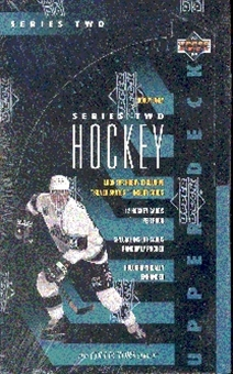 1993/94 Upper Deck Series 2 Hockey Hobby Box