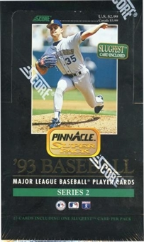 1993 Pinnacle Series 2 Baseball Jumbo Box