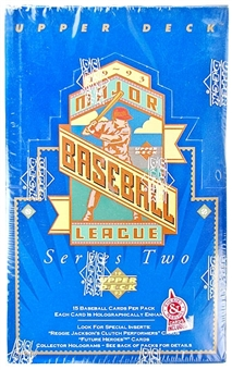 1993 Upper Deck Series 2 Baseball Retail Box