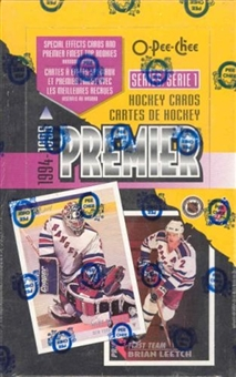 1994/95 O-Pee-Chee Premier Series 1 Hockey Hobby Box