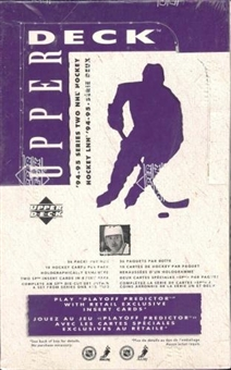 1994/95 Upper Deck Series 2 Hockey Canadian Retail Box