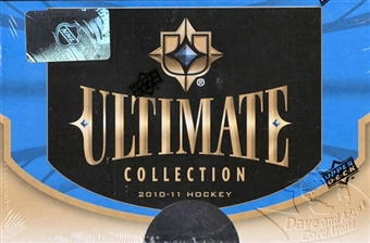 2010/11 Upper Deck Ultimate Collection Hockey Hobby Box