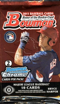 2011 Bowman Baseball Hobby Pack