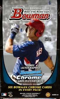 2011 Bowman Baseball Jumbo Box