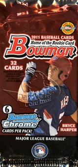 2011 Bowman Baseball Jumbo Pack