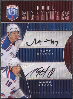2009/10 Upper Deck Be A Player Signatures Duals #S2SG Marc Staal Matt Gilroy