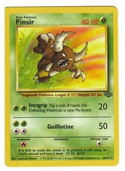 Pokemon Jungle Single Pinsir 9/64