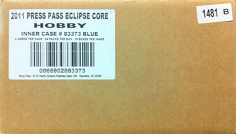 2011 Press Pass Eclipse Racing Hobby 10-Box Case